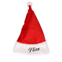 """Kerstmuts omkeerbaar """"naughty / nice"""""""