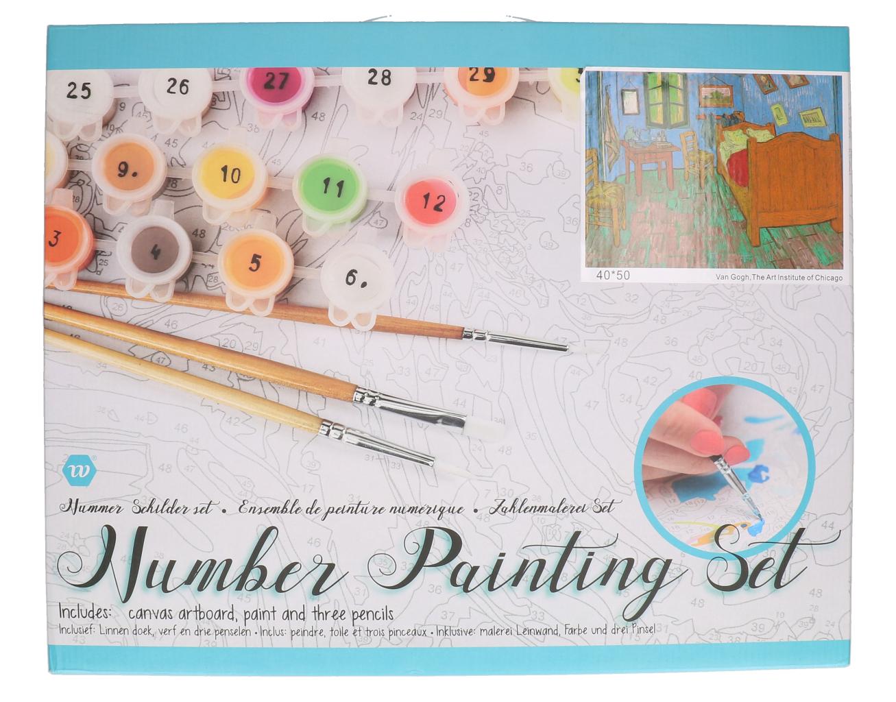 Number painting Van Gogh