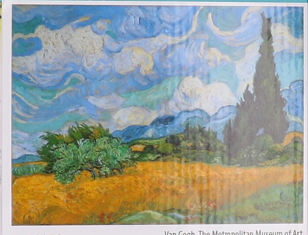 Number painting set landscape Van Gogh