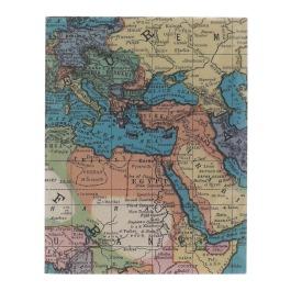 Schrift atlaskaart