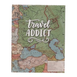 Schrift travel addict