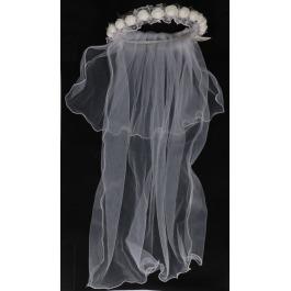 Sluier met bloemen bride to be