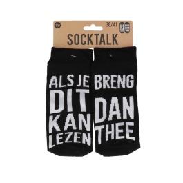 Statement sokken 36-41 breng dan thee