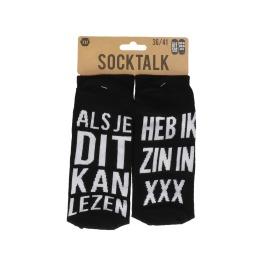 Statement sokken 36-41 heb ik zin in xxx