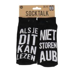 Statement sokken 36-41 niet storen aub