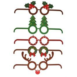Te gekke party brillen kerst