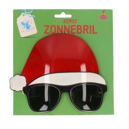 Zonnebril Met Kerstmuts