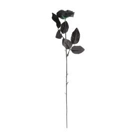 Zwarte roos 47cm