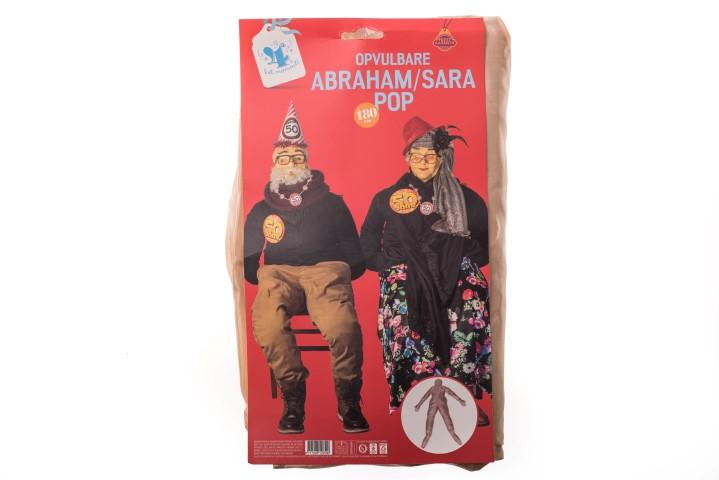 Abraham / Sara pop opvulbaar