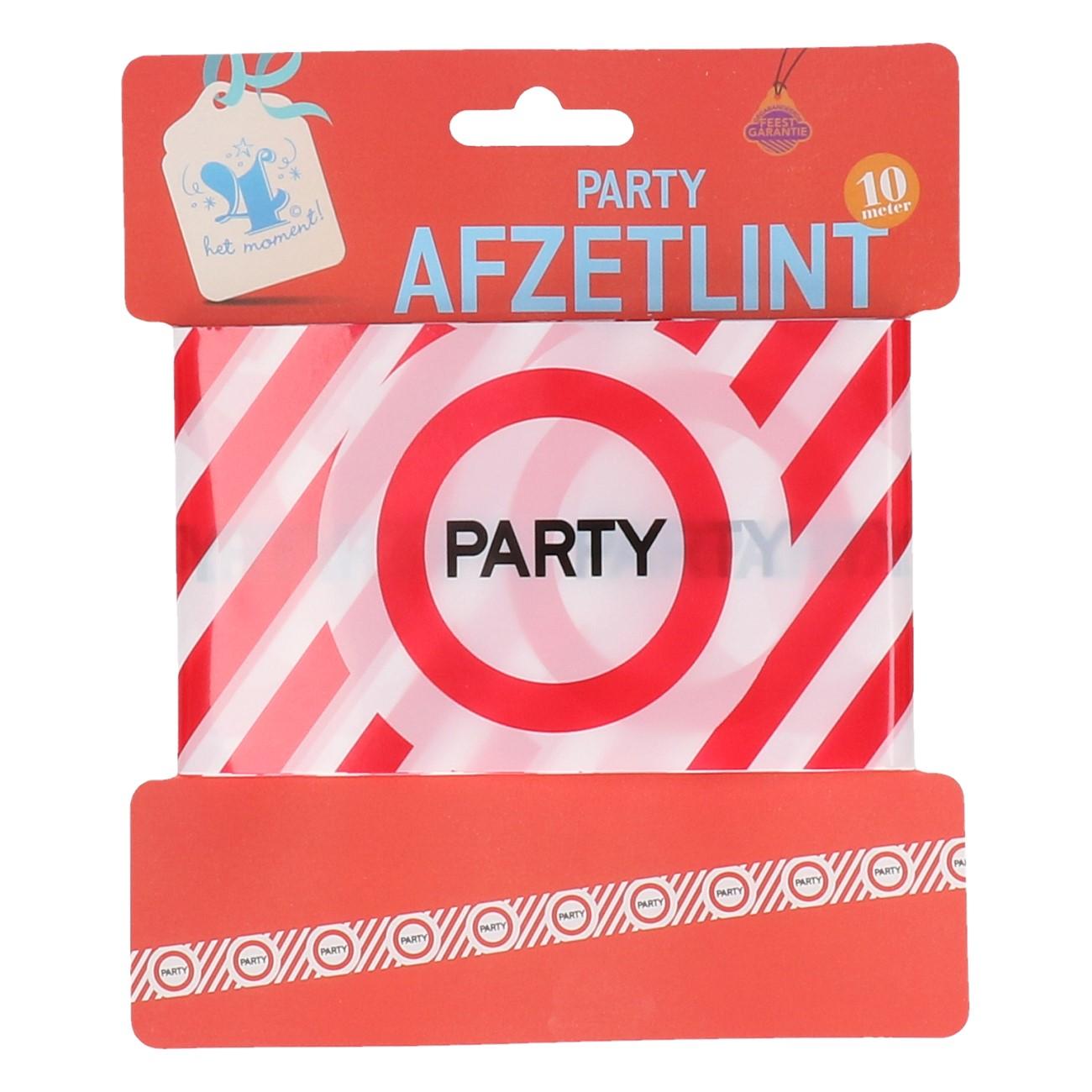 Afzetlint PARTY