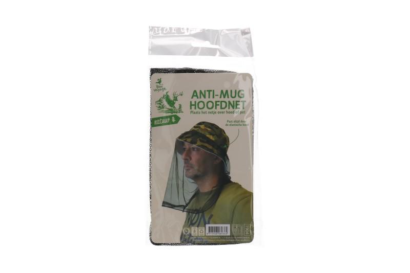 Anti mug hoofdnet