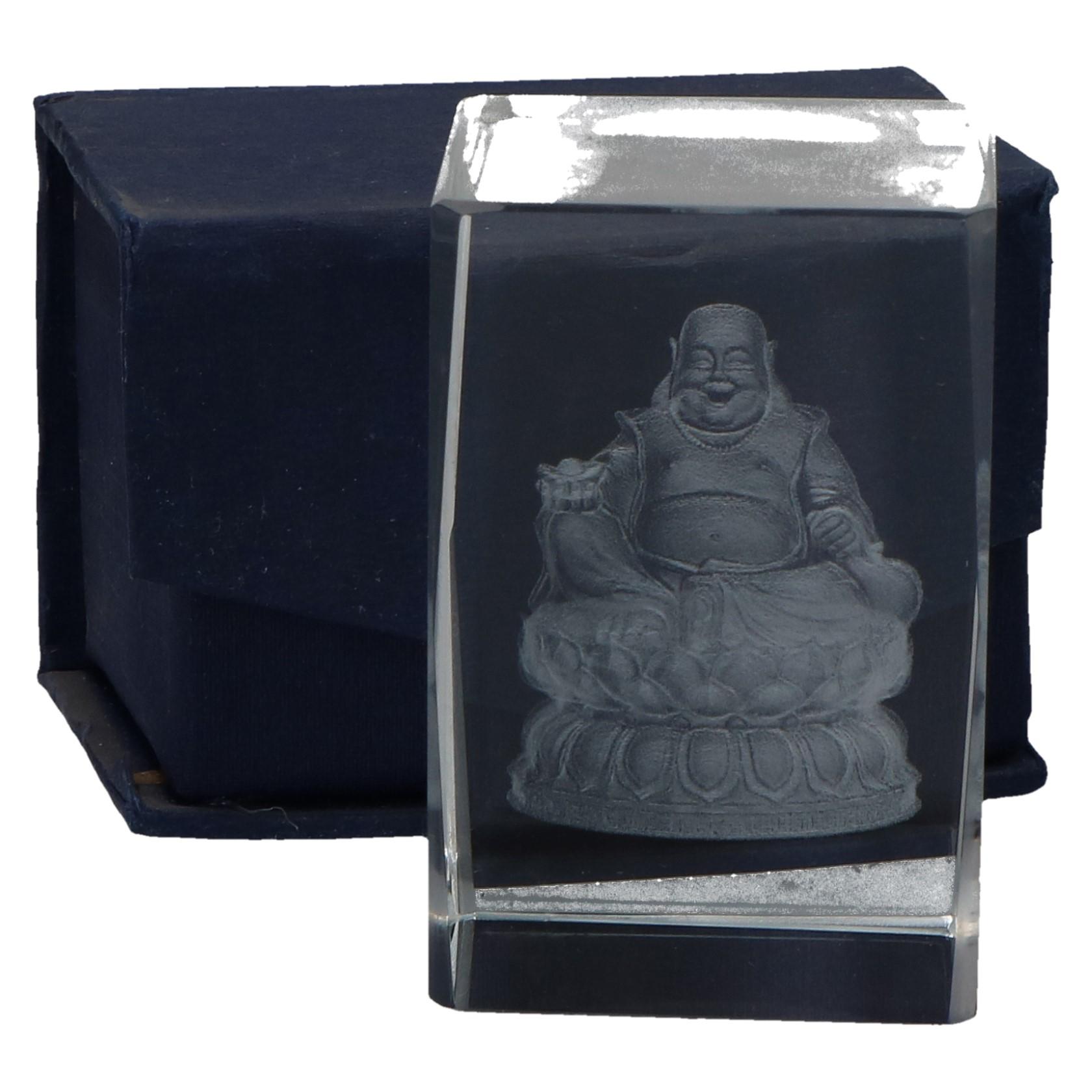 Buddha in glas