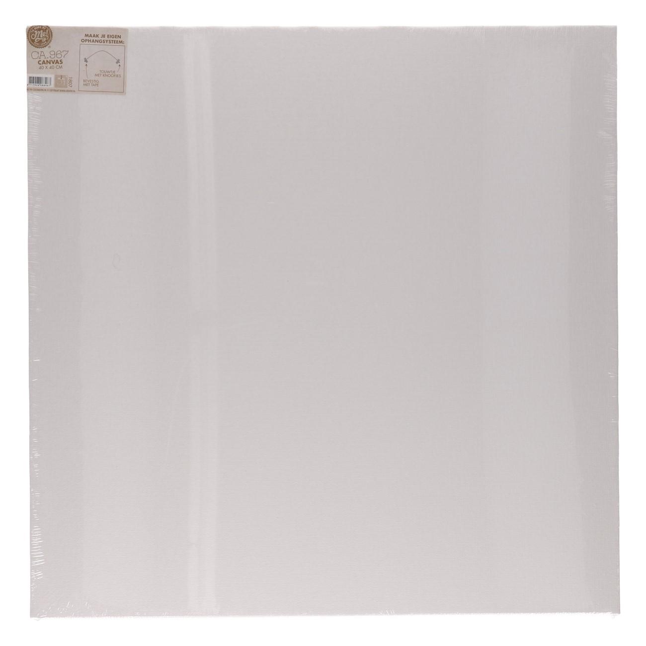 Canvas 40 x40 cm plat