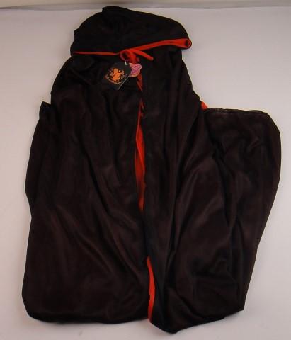 Cape twee kleurig rood/zwart maat M