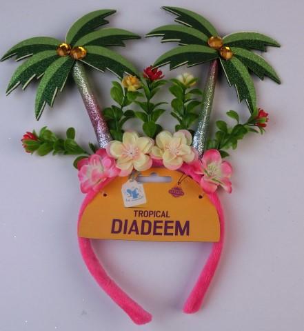Diadeem tropical