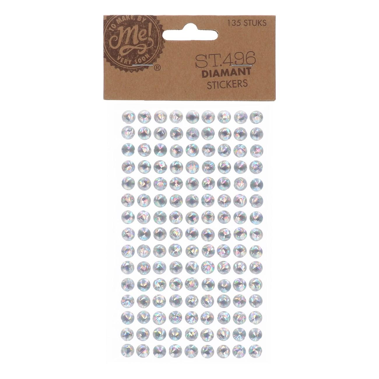 Diamant stickers st.496 135stuks