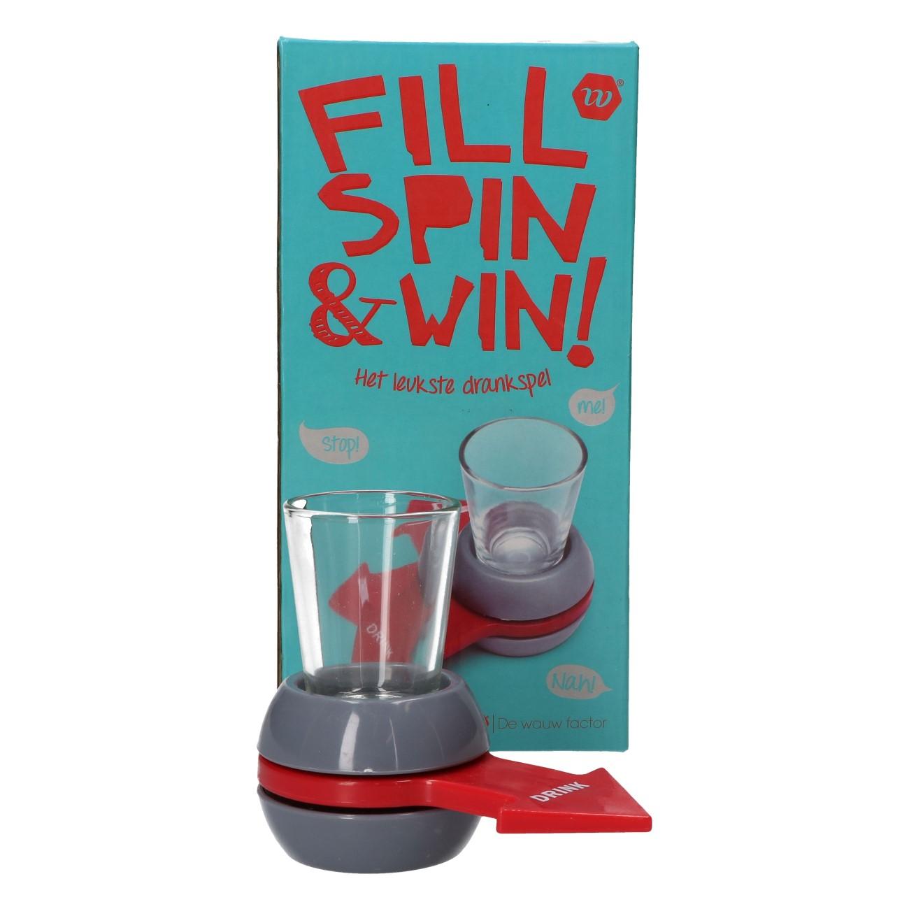 Fill spin & win
