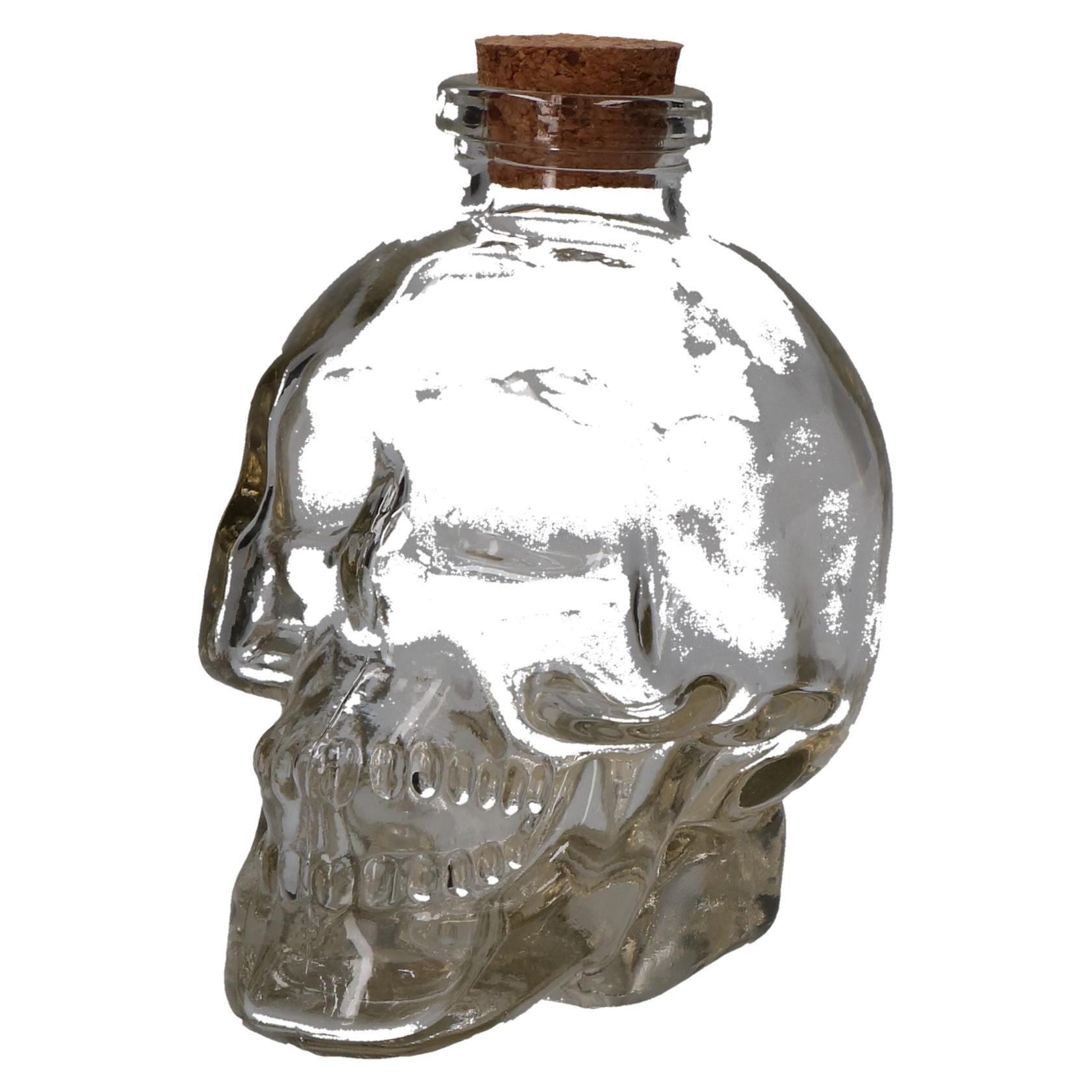 Glas skull 180ml