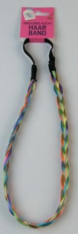 Haarband gekleurde vlecht
