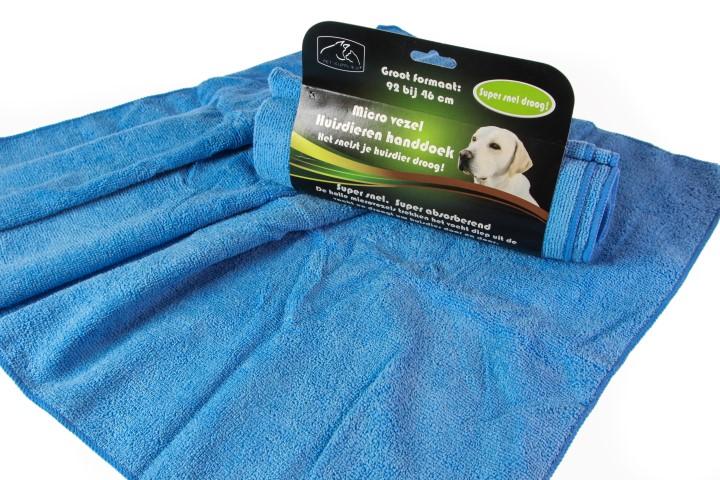 Handdoek huisdieren microfiber