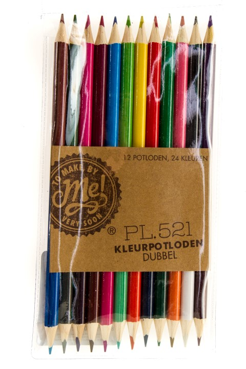 Kleurpotloden dubbel PL.521