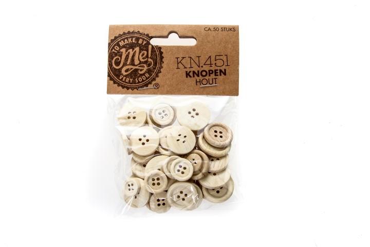 Knopen hout KN.451