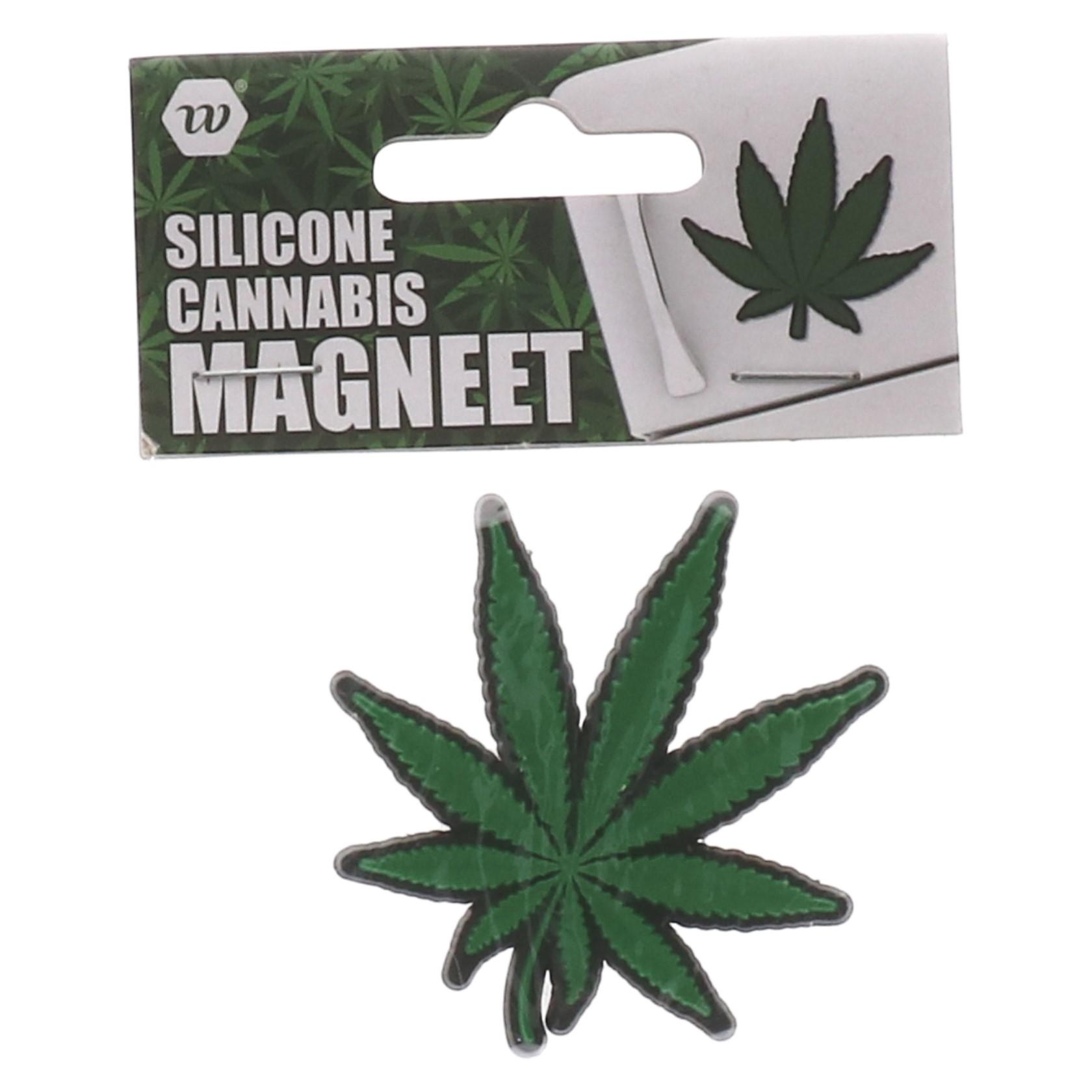 Koelkast magneet cannabis