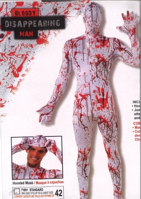 Kostuum bloody man