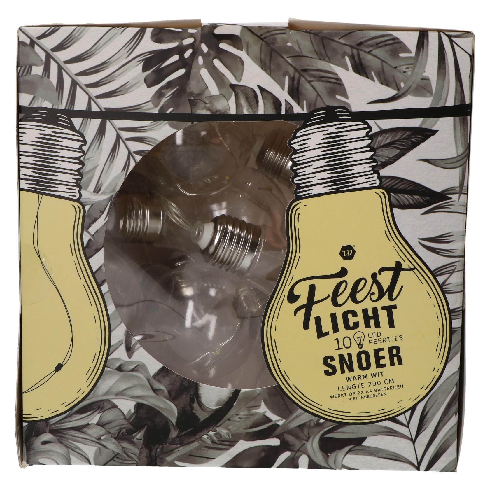 LED Lichtsnoer Peervorm 10 lampjes
