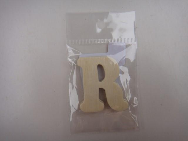 Letter hout R