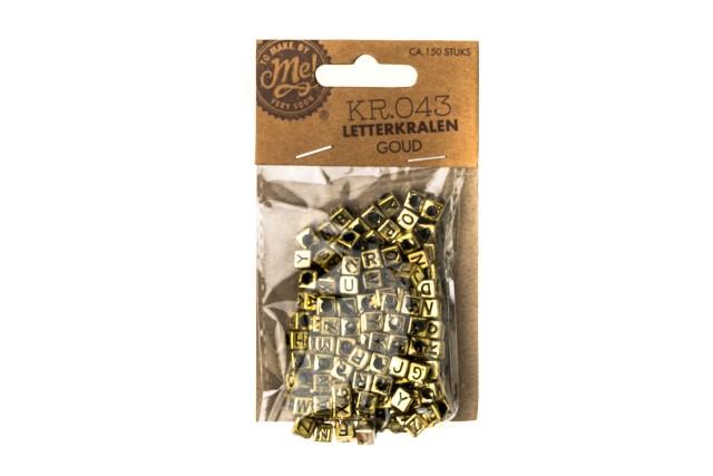 Letterkralen goud KR.043