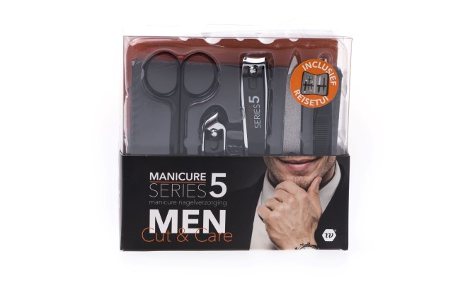 """Manicure set voor mannen """"Cut & Care"""""""