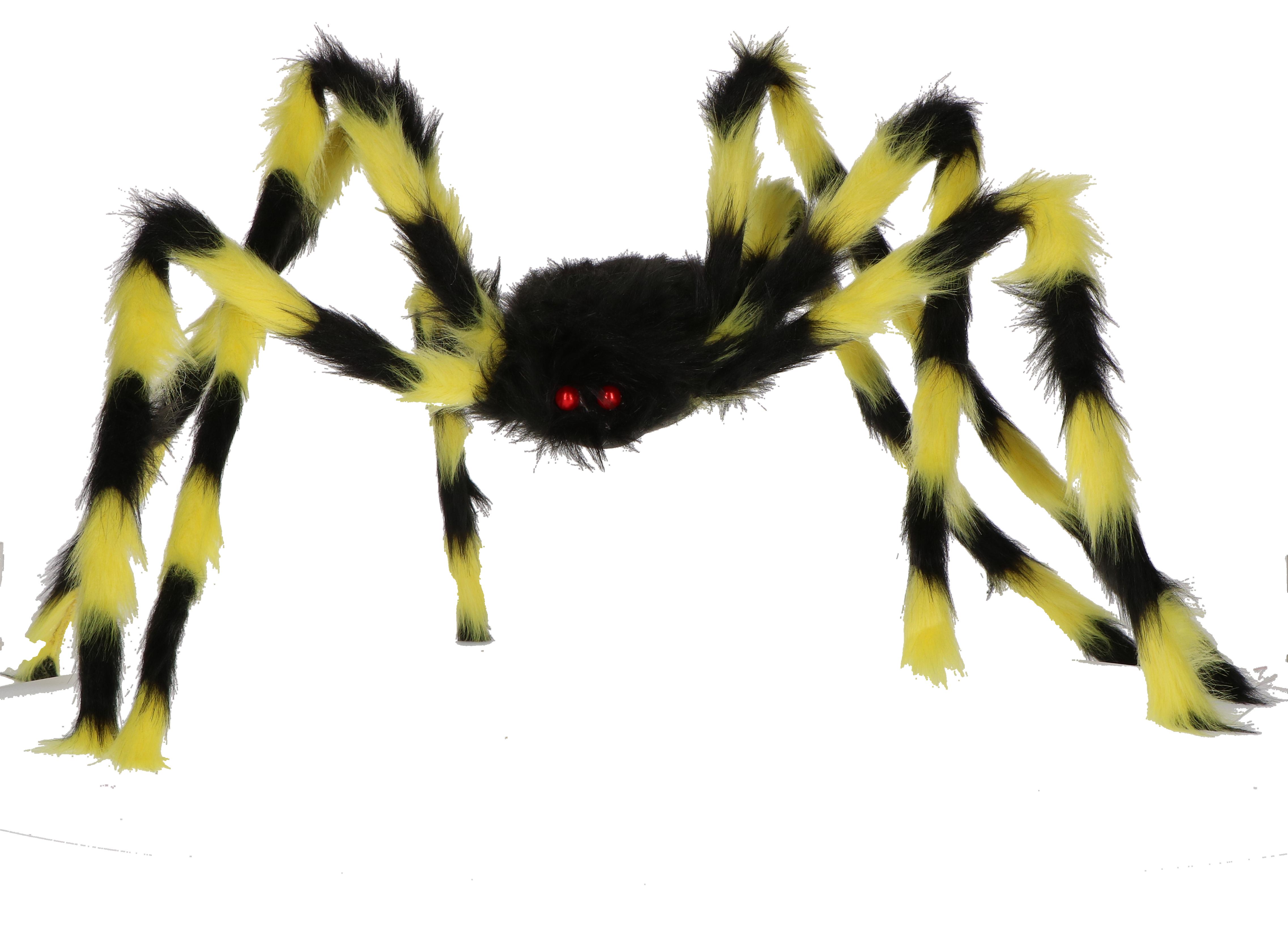 Mega spin oranje/zwart