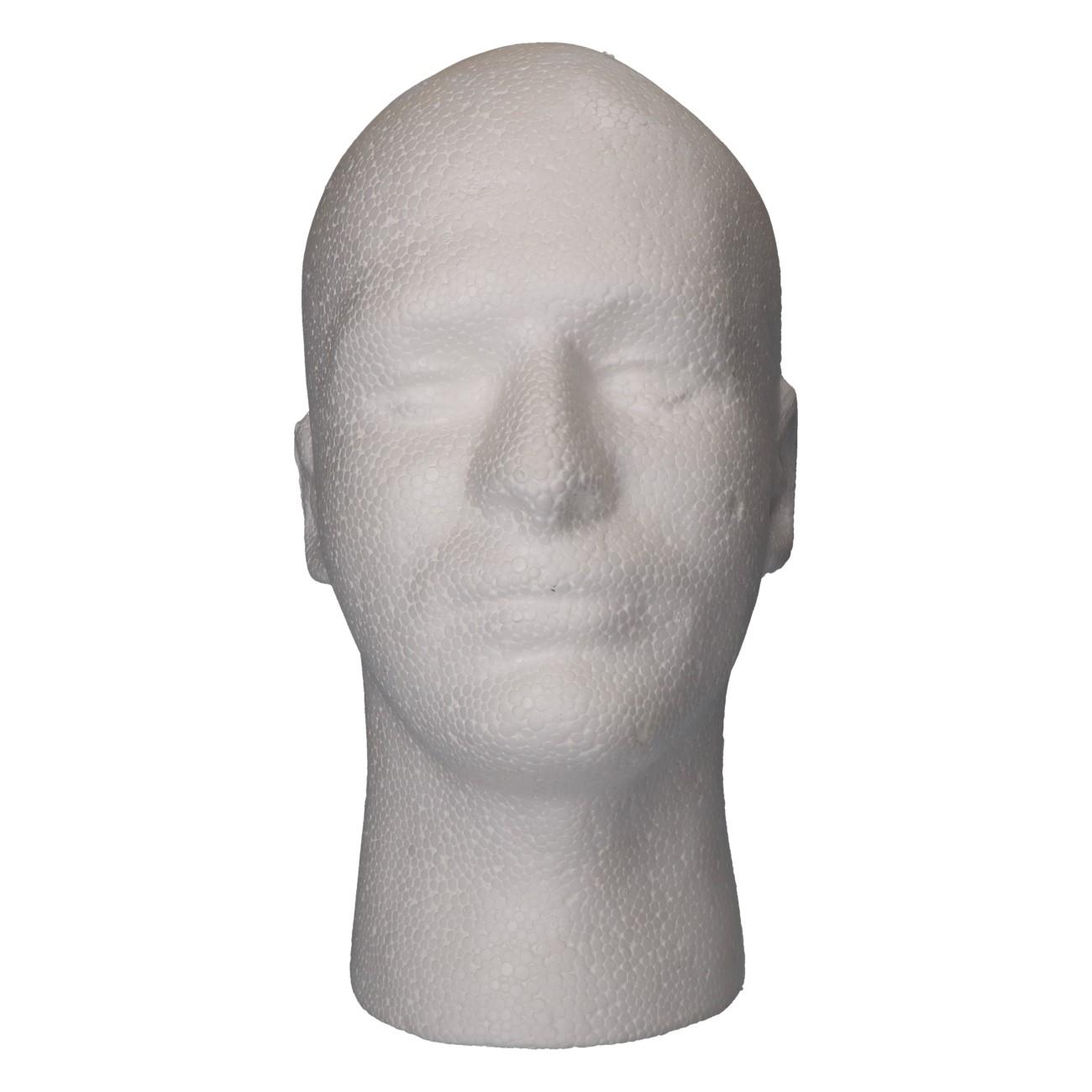 Model hoofd man