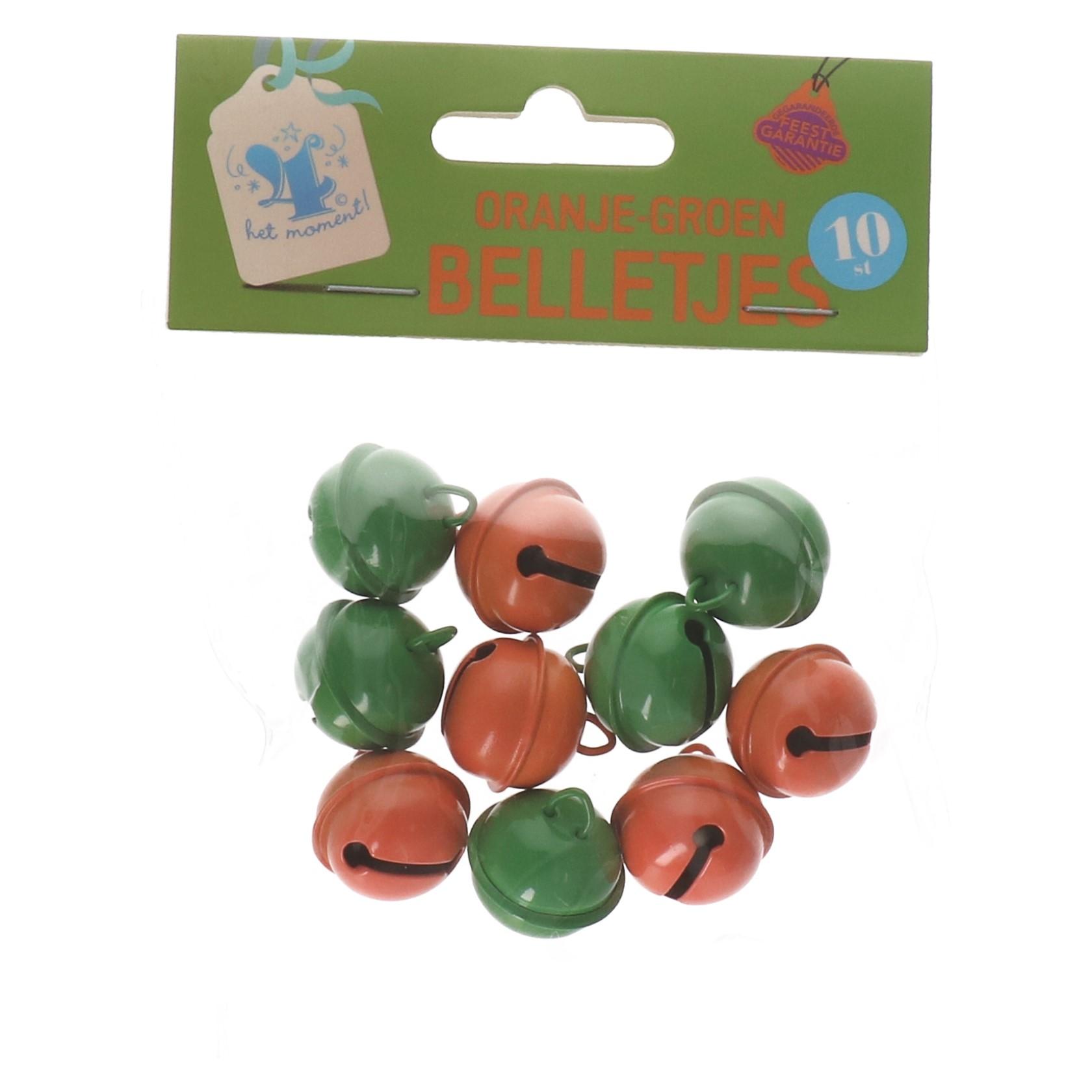 Oranje groen belletjes