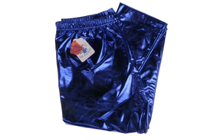 Party legging blauw S,M of L
