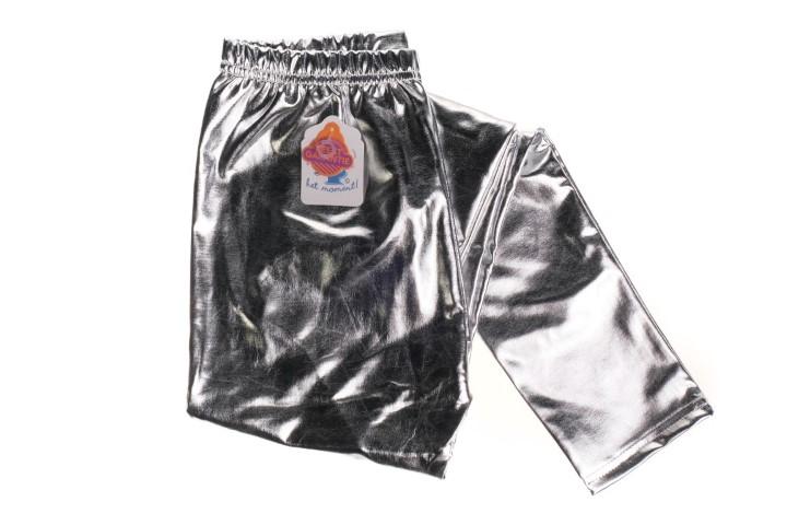 Party legging zilver S,M of L