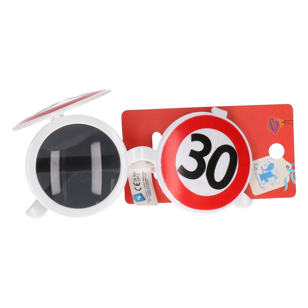 """Partybril """"30"""" jaar"""