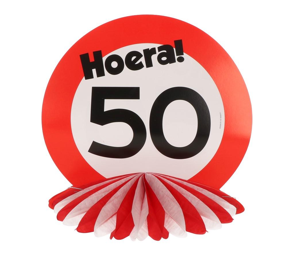 PomPom decoratie 50 jaar