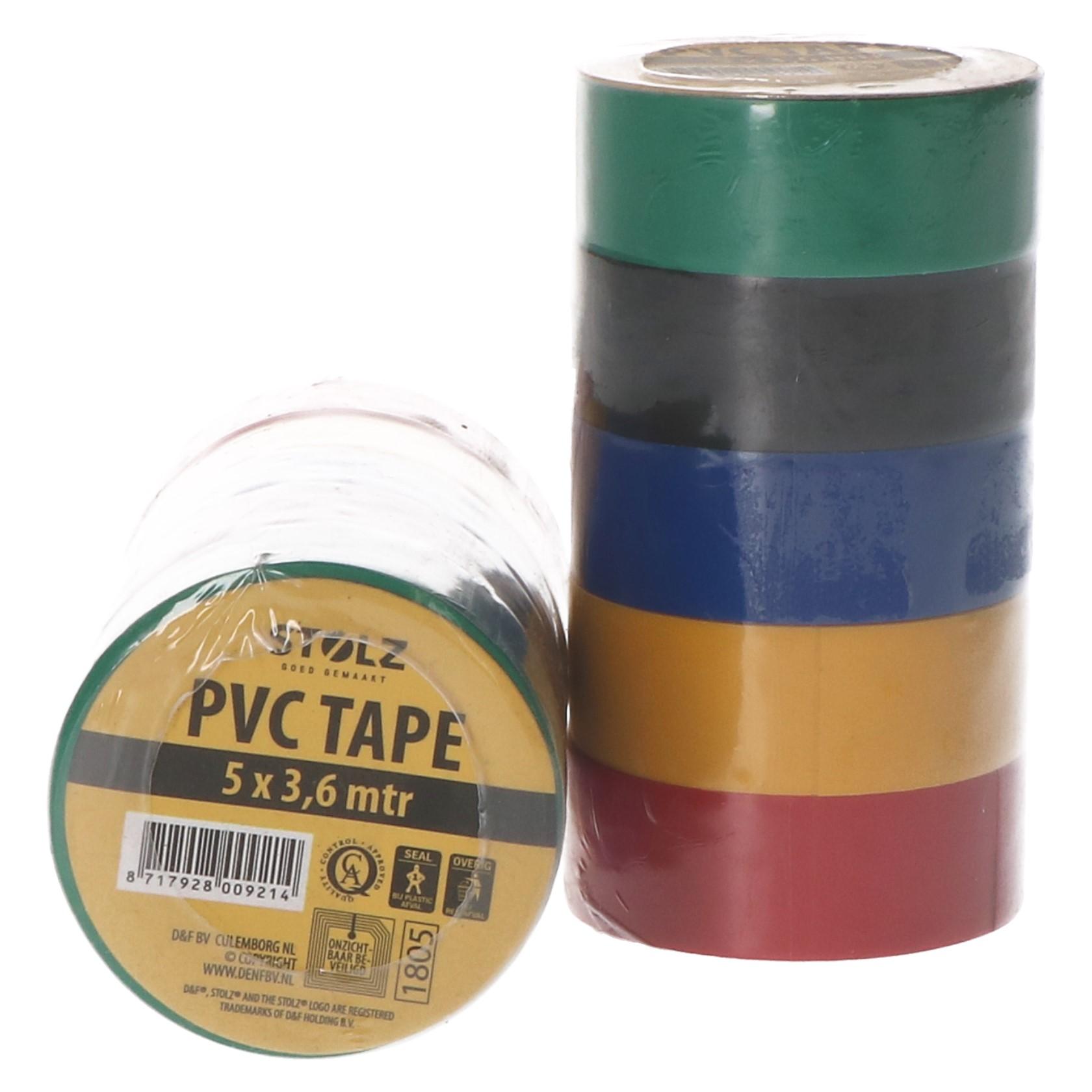 Pvc tape 5 x 3,6 mtr