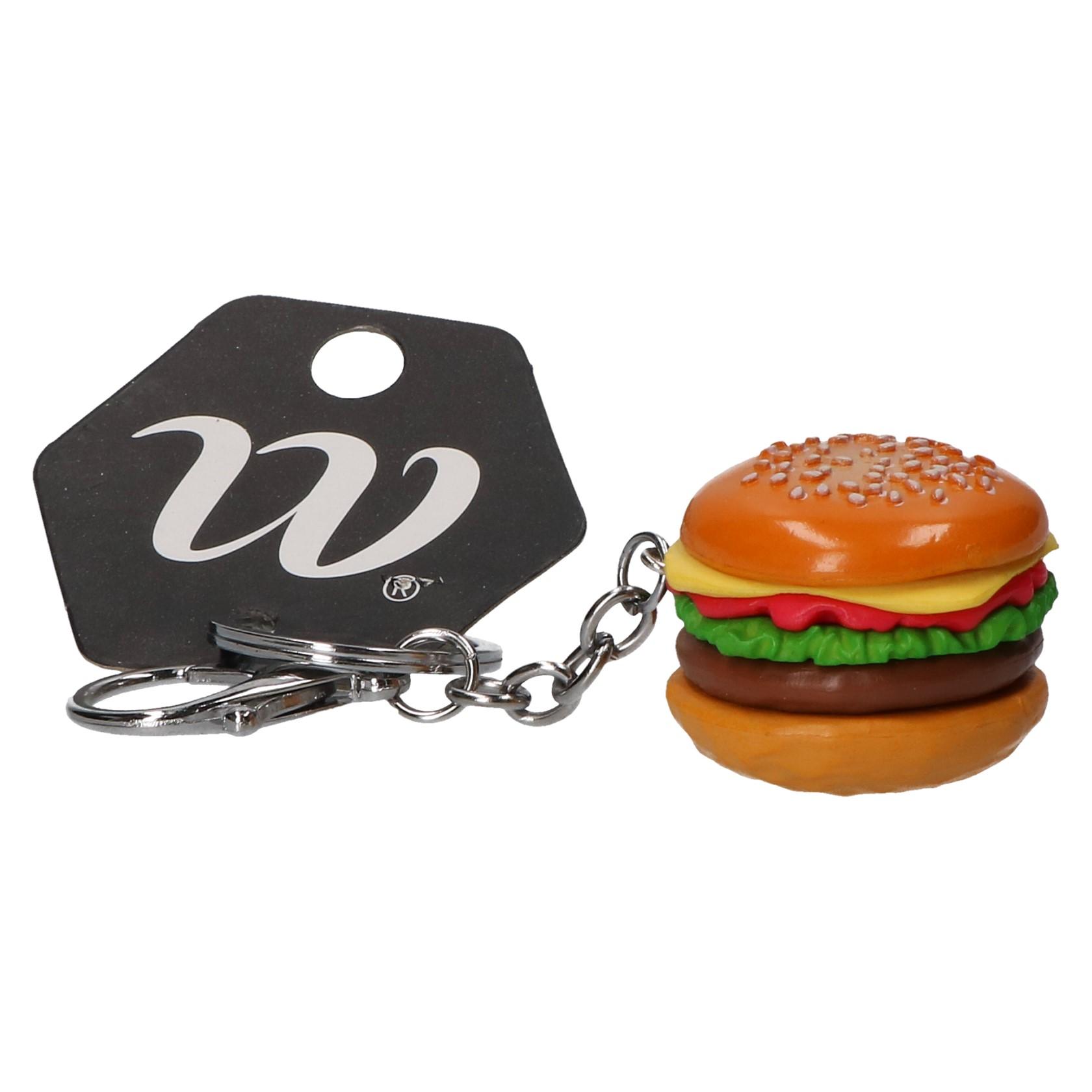 Sleutelhanger hamburger