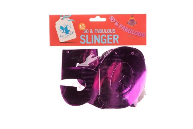Slinger 50 & fabulous