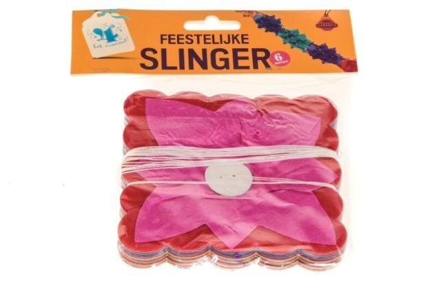 """Slinger """"feestelijke"""" 6 meter"""