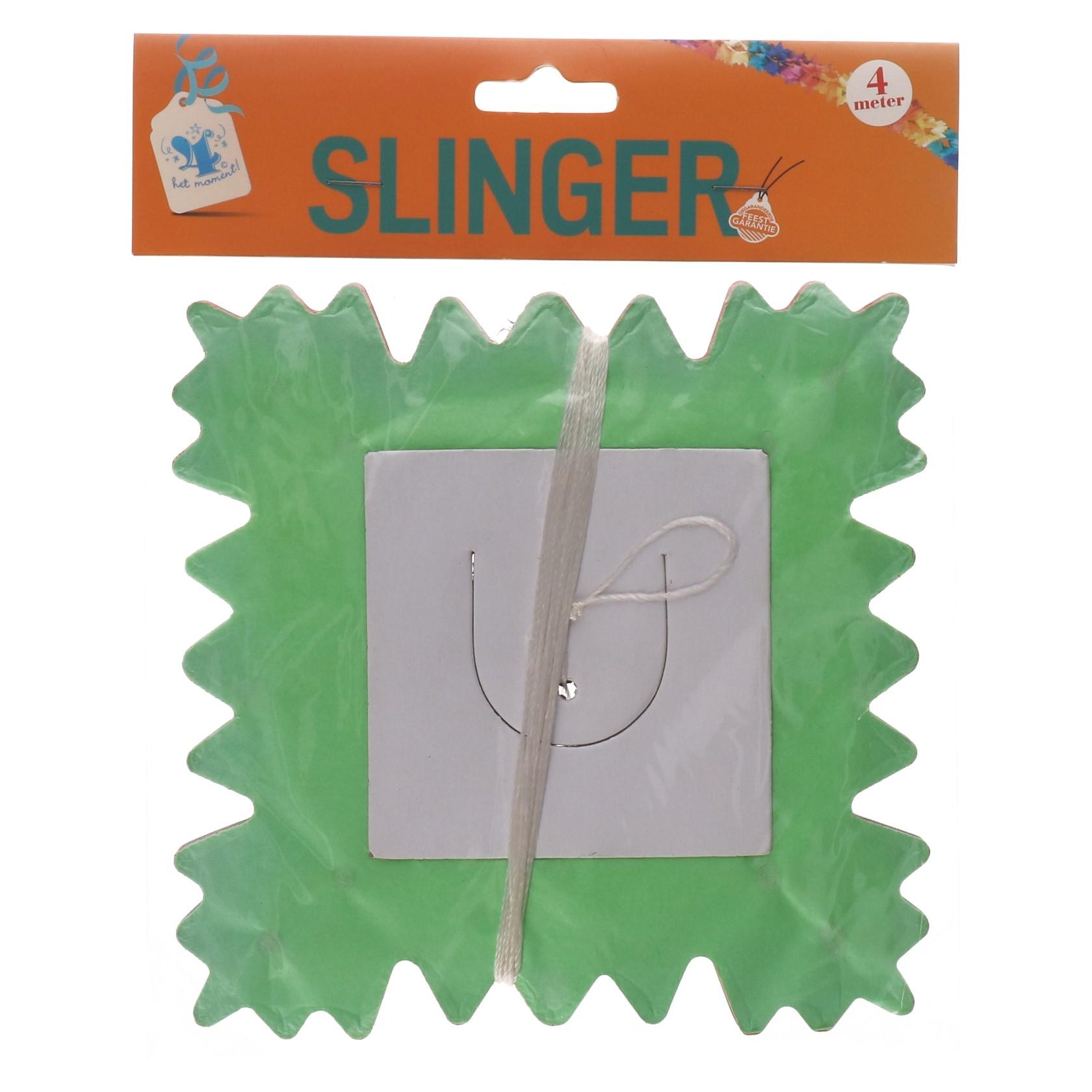 Slinger vierkant 4 MTR