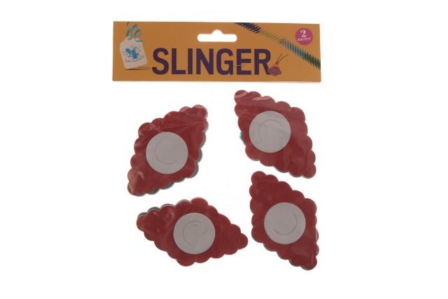 Slingers 4 stuks van 2 meter