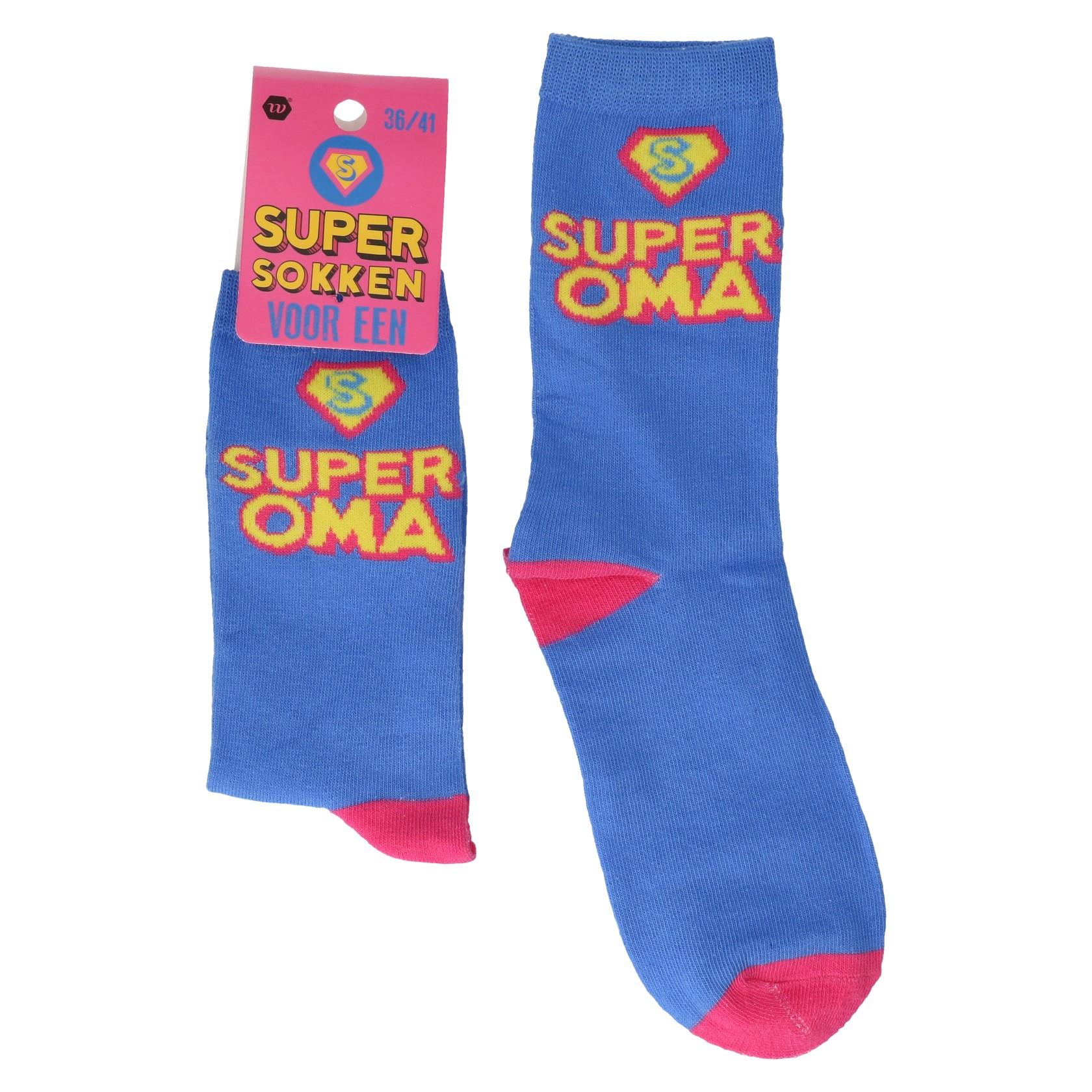 Super oma cadeausokken 36-41