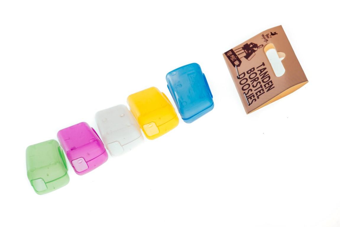 Tandenborstel doosjes 5 stuks