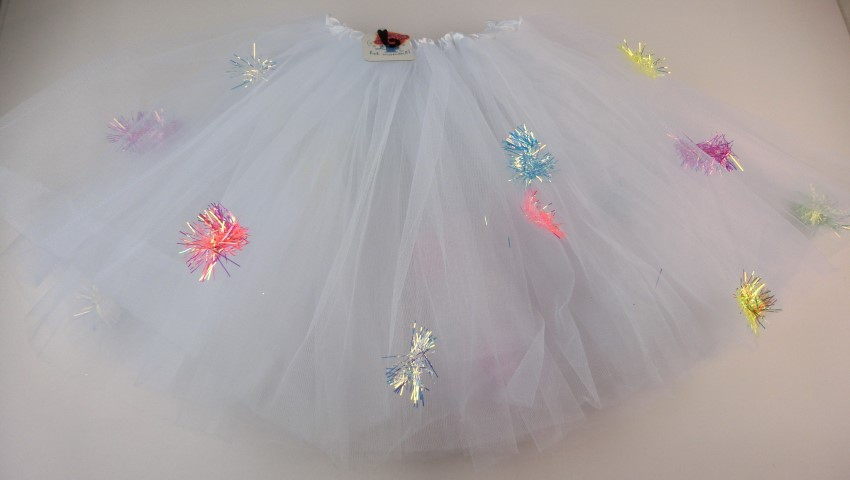 Tutu met holografisch accent ONE SIZE