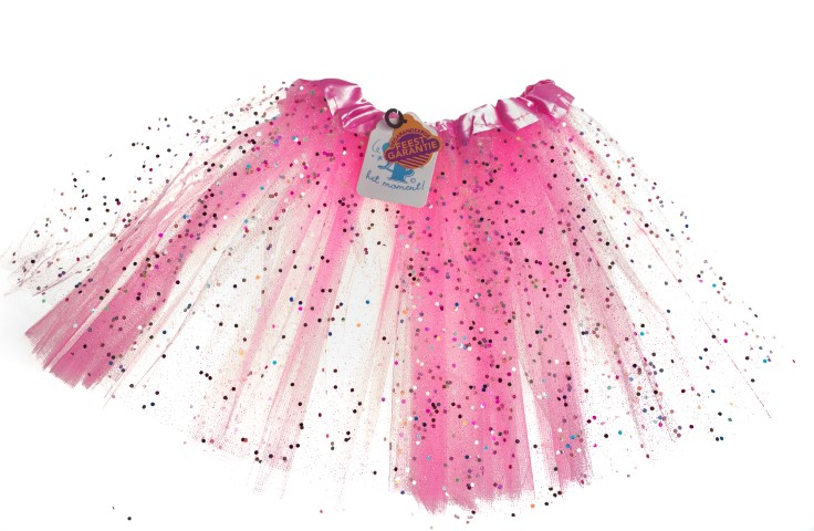 Tutu roze glitter Small