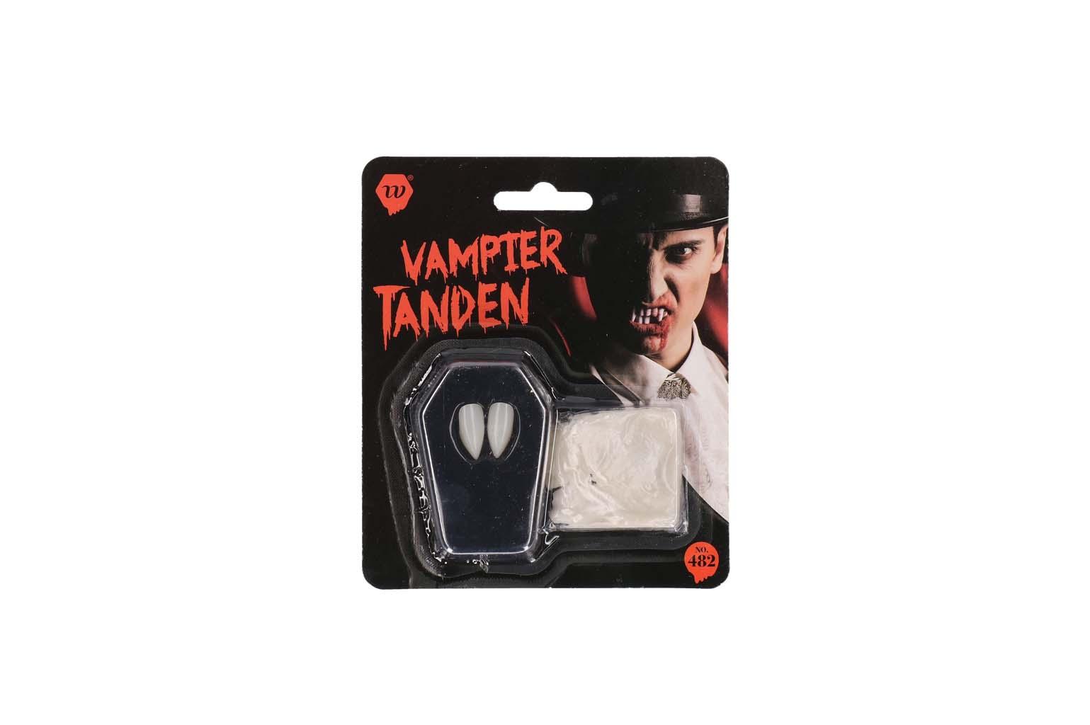Vampier hoek tanden luxe